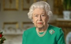 Buckingham Palace handout image of Britain's Queen Elizabeth during her address to the nation and the Commonwealth in relation to the coronavirus epidemic (COVID-19), recorded at Windsor Castle, Britain April 5, 2020. Buckingham Palace/Handout via REUTERS