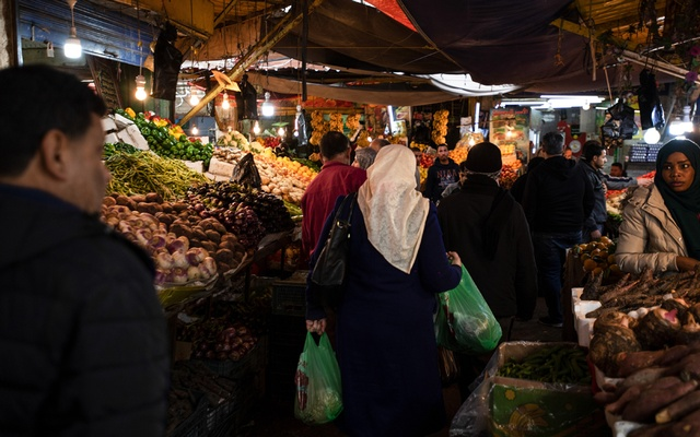A market in downtown Amman, the capital of Jordan, Dec. 11, 2019. The New York Times