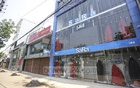 Fashion houses in Dhaka's Mirpur-2 are usually packed with customers during this time of the year. But the suspension of Pahela Baishakh celebrations due to a nationwide coronavirus outbreak has left them empty and forlorn this year. Photo: Asif Mahmud Ove