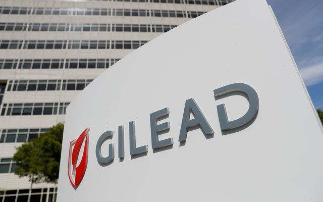 A Gilead Sciences Inc. office is shown in Foster City, California, US May 1, 2018. REUTERS