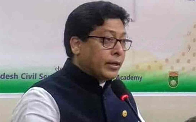 State Minister for Public Administration Farhad Hossain