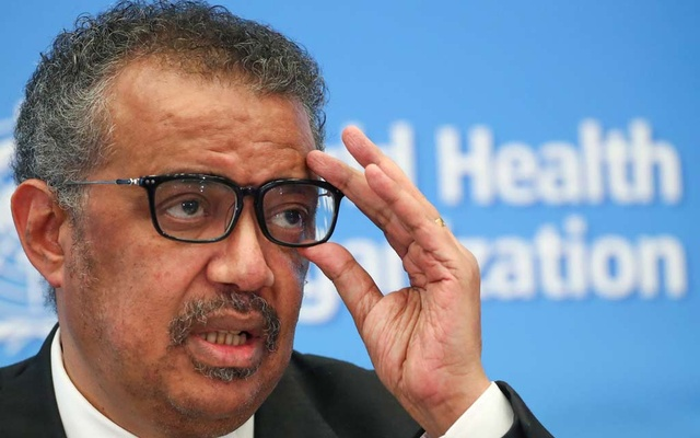 Director-General of the WHO Tedros Adhanom Ghebreyesus, attends a news conference on the novel coronavirus in Geneva, Switzerland February 11, 2020. REUTERS