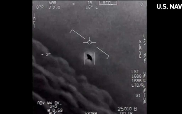 Pentagon releases three Navy videos showing UFOs