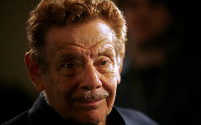 Actor Jerry Stiller arrives at the American Museum of Natural History for the premiere of the movie