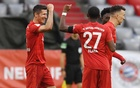 Bayern cruise past Frankfurt 5-2 to stay on title track