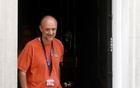 Dominic Cummings, special advisor for Britain's Prime Minister Boris Johnson, leaves 10 Downing Street, following the outbreak of the coronavirus disease (COVID-19), London, Britain, May 24, 2020. REUTERS