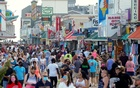 With the relaxing of the coronavirus disease (COVID-19) restrictions, visitors crowd the boardwalk on Memorial Day weekend in Ocean City, Maryland, US, May 23, 2020. REUTERS