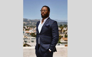 Tyree Boyd-Pates, a curator at the Autry Museum of the American West, who is preserving items of
