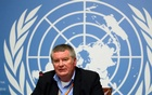 FILE PHOTO: Mike Ryan, Executive Director of the World Health Organisation (WHO), attends a news conference at the United Nations in Geneva, Switzerland May 3, 2019. REUTERS/Denis Balibouse/File Photo