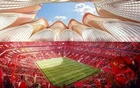 A rendering of Guangzhou Evergrande's new 100,000-seat football stadium in Guangzhou, Guangdong province, China is seen in this handout provided to Reuters on April 22, 2020. Evergrande Group/Handout via Reuters.