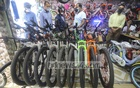 Shopkeepers say the demand for bicycles has increased after reopening of offices following a two-month lockdown. Photo: Asif Mahmud Ove