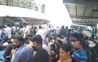 'Out of control': Passengers ignore social distancing norms at Chandpur launch terminal