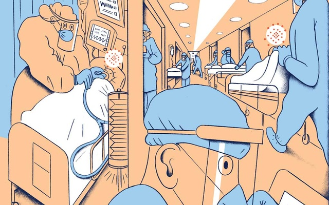 Teams of scientists, working across national boundaries, are racing to understand the virus's weaknesses, develop treatments and vaccine candidates, and to accurately forecast its next moves. (Richard McGuire/The New York Times)