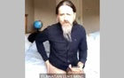The European Parliament's official live broadcast shows Ireland lawmaker Luke Ming Flanagan wearing a shirt and sitting on the edge of an unmade bed with his legs crossed, rubbing his thighs as he addressed an agriculture committee for two minutes. European Union/Social Media via REUTERS