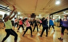 BC-WELL-GROUP-FITNESS-CLASSES-ART-NYTSF -- An exercise class in Manhattan, Feb 23, 2016. In February and March, 112 people were infected with the Covid-19 virus in South Korea because of Zumba classes. (Nicole Craine/The New York Times)