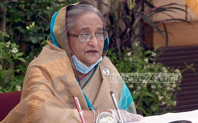 Hasina says government has put heart and soul into coronavirus response to save people