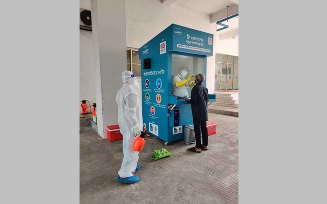 EHD launches digital COVID-19 triage, sample collection kiosks in Dhaka