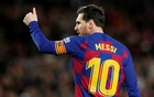FC Barcelona v Real Sociedad - Camp Nou, Barcelona, Spain - March 7, 2020 Barcelona's Lionel Messi celebrates scoring their first goal REUTERS