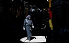 A woman walks through Tehran, Iran, May 14, 2020. (Arash Khamooshi/The New York Times)