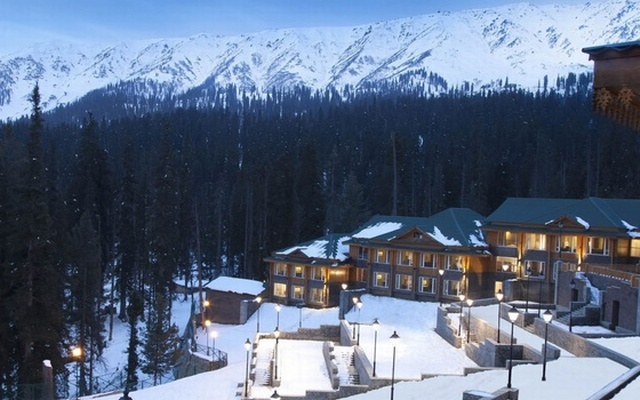 The Khyber Himalayan Ski Resort and Spa in Gulmarg, Jammu and Kashmir. Photo: IANS
