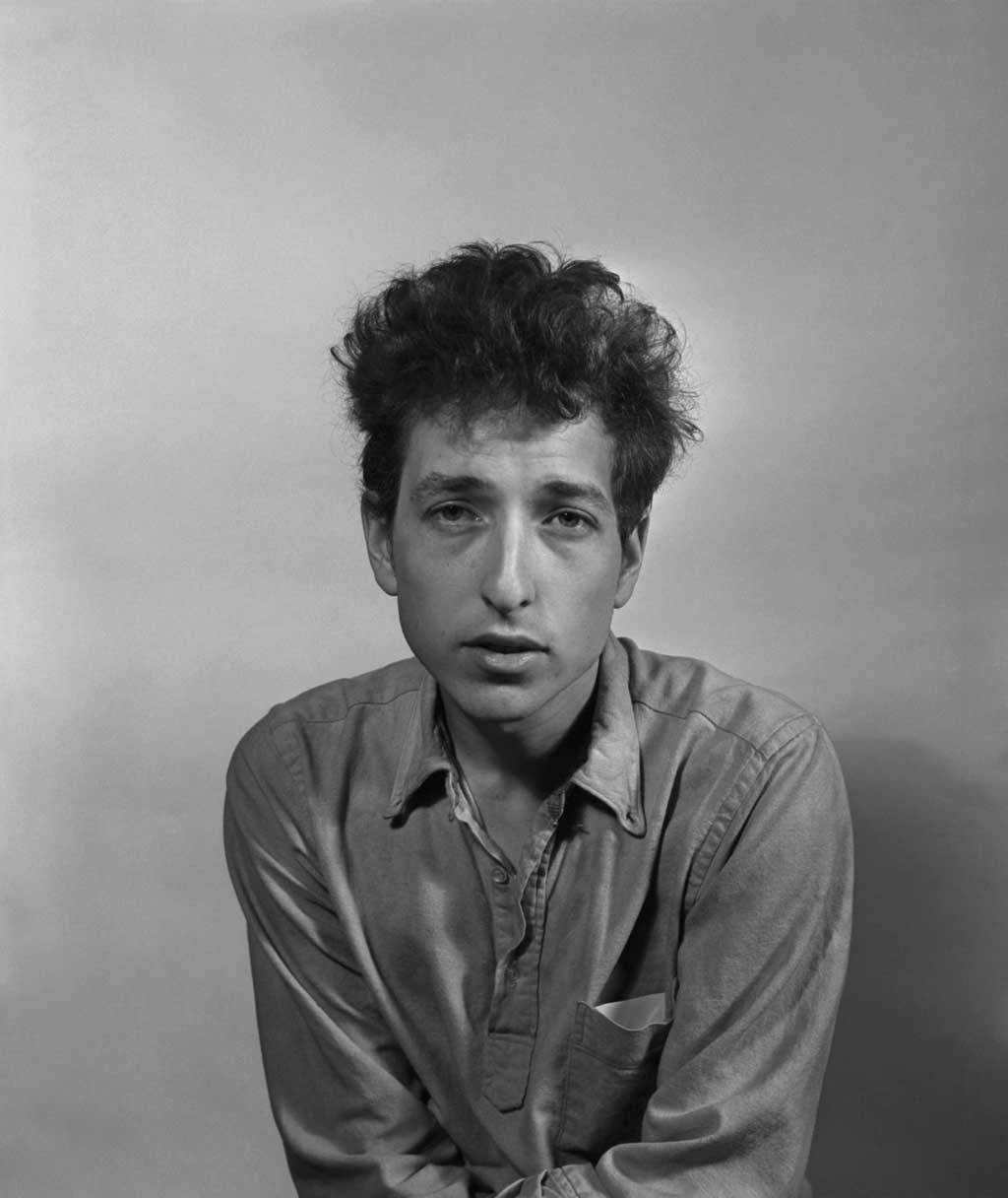 "Bob Dylan in New York, 1963. In a rare interview, the Nobel Prize winner discusses mortality, drawing inspiration from the past, and his new album: ""Rough and Rowdy Ways."" (William C. Eckenberg/The New York Times)"