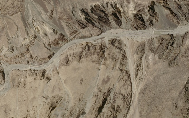 A satellite image taken over Galwan Valley in Ladakh, India, parts of which are contested with China, June 16, 2020, in this handout obtained from Planet Labs Inc. Picture taken June 16, 2020. REUTERS