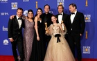 FILE PHOTO: 77th Golden Globe Awards - Photo Room - Beverly Hills, California, US, January 5, 2020 - The cast of