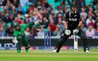 ICC Cricket World Cup - Bangladesh v New Zealand - The Oval, London, Britain - Jun 5, 2019 Bangladesh's Mushfiqur Rahim attempts to take a catch from New Zealand's Ross Taylor. Reuters/FILE