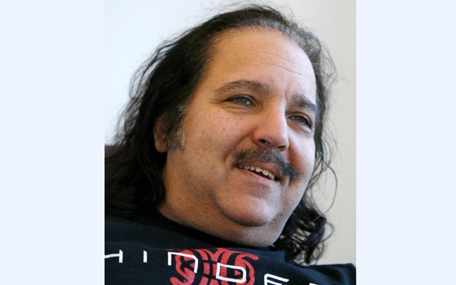 Adult film star Ron Jeremy speaks during an interview with Reuters in New York Feb 7, 2007. Porn star Jeremy wants to be taken seriously with his clothes on, with his new found mainstream appeal from reality television. REUTERS
