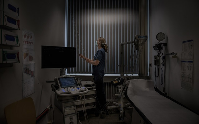 Dr Camilla Rothe, an infectious disease specialist at Munich University Hospital in Germany, Jun 17, 2020. Rothe's team was among the first to warn about asymptomatic transmission. Laetitia Vancon/The New York Times