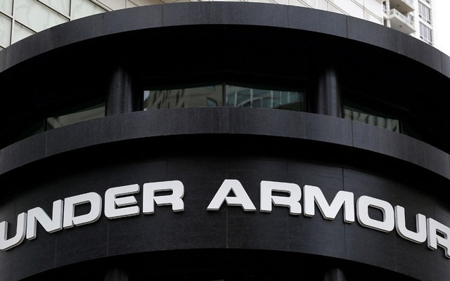 An Under Armour sign is seen outside a store in Chicago, Illinois, US, October 25, 2016. Reuters