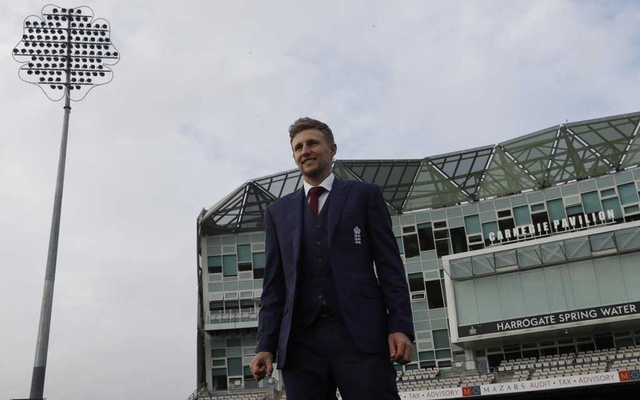 Britain Cricket - England - Joe Root Press Conference - Headingley - 15/2/17 England's Joe Root poses ahead of the press conference Action Images via Reuters / Lee Smith Livepic