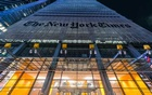 The New York Times building, on 8th Avenue in Manhattan, Feb 8, 2020. Jeenah Moon/The New York Times