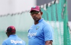 West Indies Nets - Kensington Oval, Barbados - 28/4/15, West Indies head coach Phil Simmons during nets Action Images via Reuters