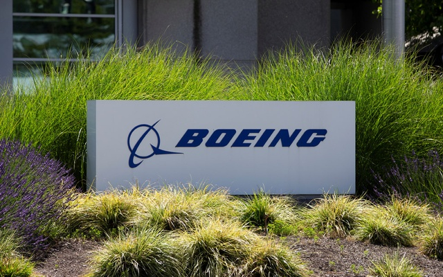 Signage of The Boeing Company in Seattle, Washington, US June 29, 2020. REUTERS