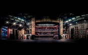 A photo provided by Edward Borlase shows the auditorium of the Theater Royal Plymouth, viewed from backstage, in Plymouth, England. (Edward Borlase via The New York Times)