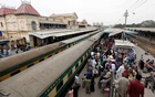 A general view of the Cantonment railway station, after Pakistan shut all its schools and discouraged large gatherings amid coronavirus disease (COVID-19) fears, in Karachi, Pakistan March 15, 2020. Reuters