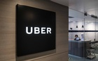 Uber's offices in Hong Kong, June 19, 2020. Uber is facing its greatest crisis: keeping the ride-hailing business afloat when many people are still staying home. (Lam Yik Fei/The New York Times)