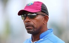 West Indies Nets - Sir Vivian Richards Stadium, Antigua - 12/4/15 West Indies Head Coach Phil Simmons during nets Action Images via Reuters