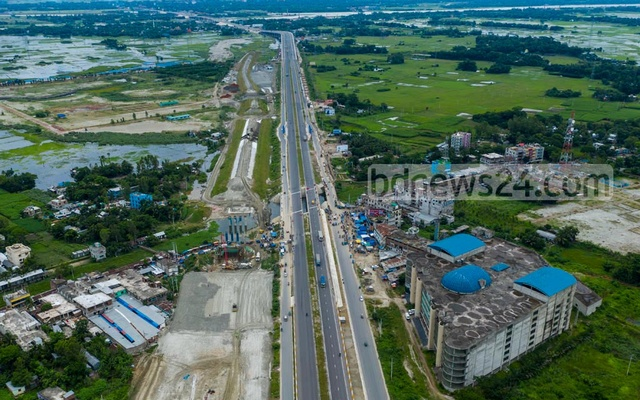 The 24 Engineer Construction Brigade of Bangladesh Army implemented the project under the supervision of the Roads and Highways Department.