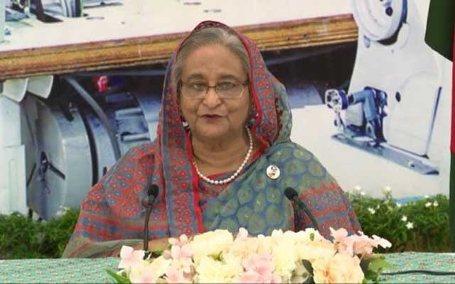 Prime Minister Sheikh Hasina addresses the ILO Virtual Global Summit on COVID-19 and the World of Work via video message on Wednesday.