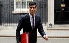 Chancellor of the Exchequer Rishi Sunak leaves Downing Street, following the outbreak of the coronavirus disease (COVID-19), London, Britain, May 4, 2020. REUTERS