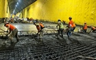 In a photo from the Metropolitan Transportation Authority, a concrete pour on the East Side Access Project in New York, June 3, 2014. Patrick Cashin spent two decades as the official MTA photographer. From the bridges to the tunnels. Patrick Cashin via The New York Times