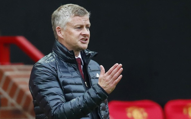 Premier League - Manchester United v AFC Bournemouth - Old Trafford, Manchester, Britain - July 4, 2020 Manchester United manager Ole Gunnar Solskjaer, as play resumes behind closed doors following the outbreak of the coronavirus disease (COVID-19) Clive Brunskill/Pool via REUTERS