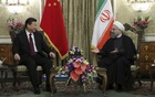 Iranian President Hassan Rouhani (R) meets with Chinese President Xi Jinping in Tehran, Iran January 23, 2016. REUTERS