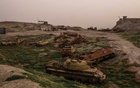 FILE — Old Russian tanks litter the grounds of Bala Hissar, a military base that overlooks the city of Kunduz, which was overrun by the Taliban in 2015, in Afghanistan, March 7, 2018. (Jim Huylebroek/The New York Times)
