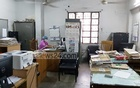 This room is the office for four employees while only one is seen working there on Sunday. Photo: Shahidul Islam