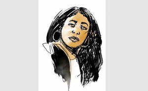 An illustration of Jemele Hill. Colin Laurel/The New York Times