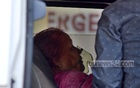 Relatives brought Ayesha Begum for admission to Chattogram Medical College Hospital for breathing difficulty. Photo: Suman Babu