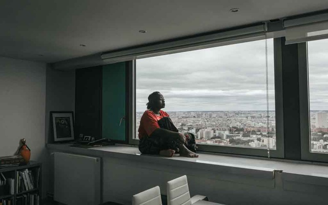 Maboula Soumahoro in her Paris apartment on June 30, 2020. The New York Times
